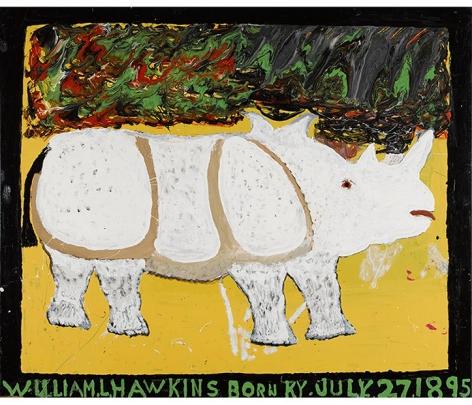 William Hawkins Rhinoceros, 1985