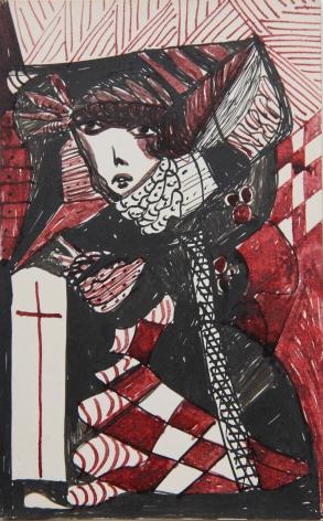 Madge Gill Untitled,c.1945