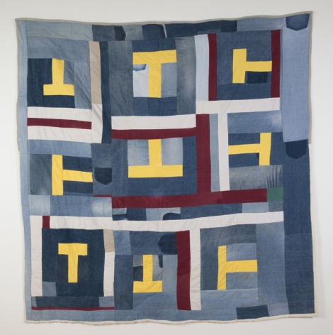 Gee's Bend Quiltmaker (Mary Lee Bendolph), Untitled,2003/2004