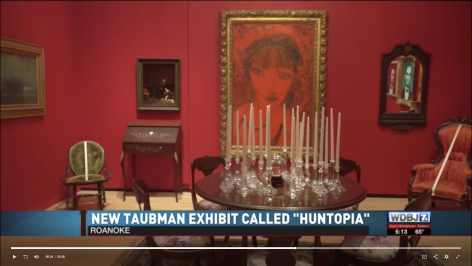 WDBJ: New exhibit with séance room opens at Taubman Museum of Art