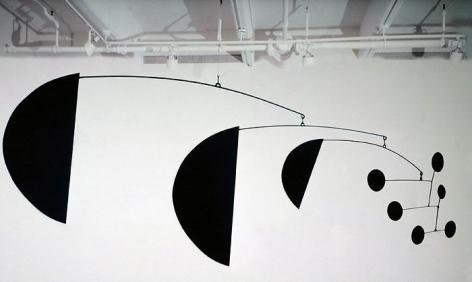 Alexander Calder Three Segments, 1972