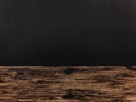TERESITA FERNÁNDEZ Golden (Obsidian Sky), 2014(detail)