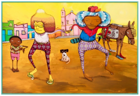 OSGEMEOS, Breakdance no Sertão, 2017
