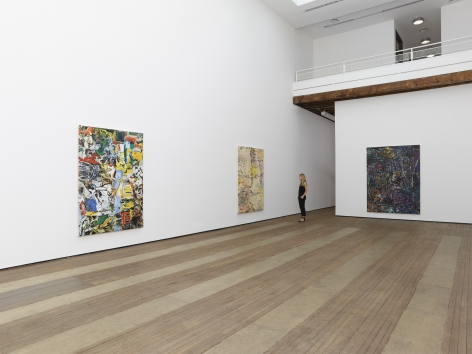 Angel Otero, New Paintings, Installation view, Lehmann Maupin, 201 Chrystie Street, New York, 2015
