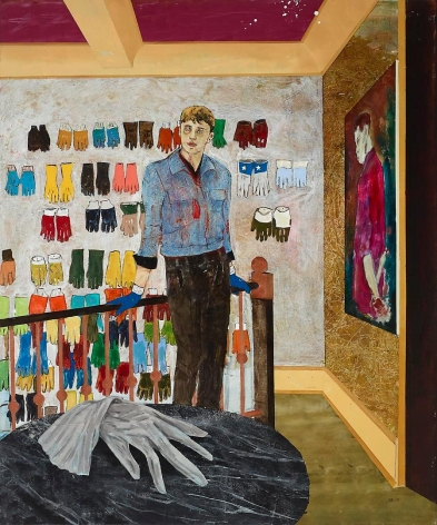 HERNAN BAS Case study (Harvey, Palmist/glove collector), 2014