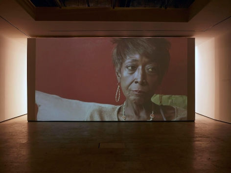 MICKALENE THOMAS: How to Organize a Room Around a Striking Piece of Art Installation view 4
