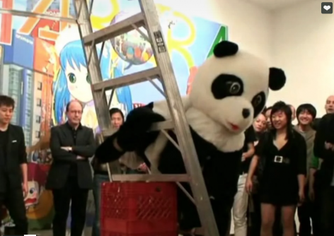 Mr., Opening Performance at Lehmann Maupin Gallery, May 2007
