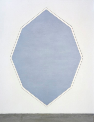 MARY CORSE, Untitled (Octagonal Blue), 1964