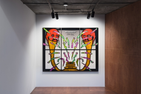 Gilbert & George, THE BEARD PICTURES, Installation view, Lehmann Maupin Seoul