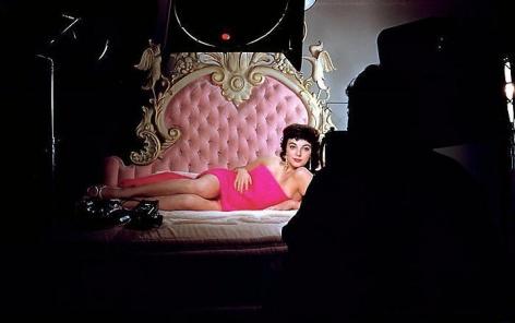 YUL BRYNNER Joan Collins, Hollywood, 1956