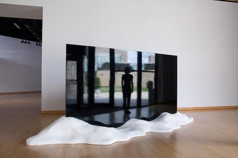 TERESITA FERNÁNDEZ Ink Mirror (Landscape), 2007