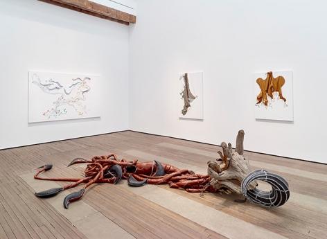 Nicholas Hlobo installation view 4