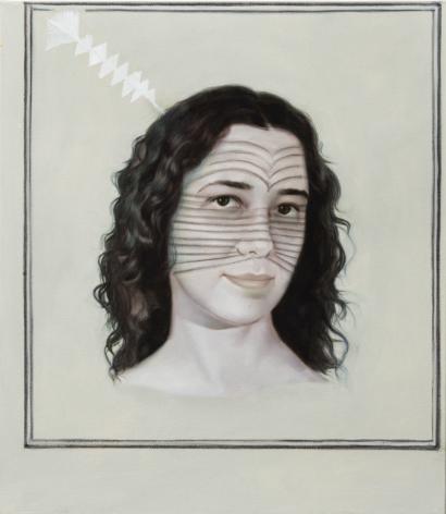 ADRIANA VAREJÃO Kindred Spirits (detail), 2015
