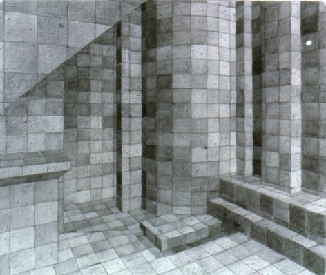 ADRIANA VAREJÃO Ambiente Virtual - Grafite, 2002