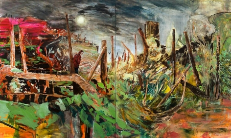 赫爾南·å·´æ–¯ A Landscape to Swallow You Whole, 2011