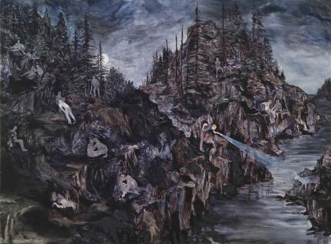 赫爾南·å·´æ–¯ On the jagged shores, 2002