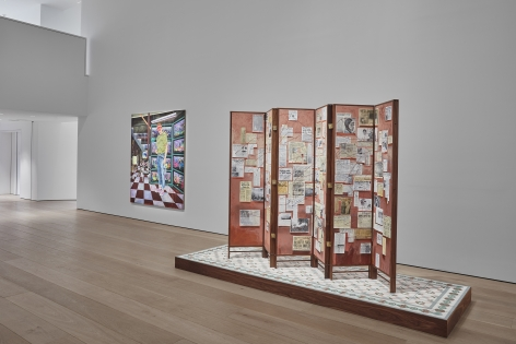 Hernan Bas, TIME LIFE  Installation view 5