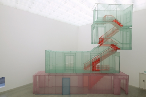 DO HO SUH, 348 West 22nd Street, Apt. A, Corridor and Staircase, New York NY 10011, USA, 2011-2015
