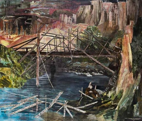 HERNAN BAS A Devil's Bridge, 2011-2012