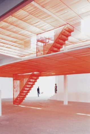 Staircase, 2003 Installation at Istanbul Biennial