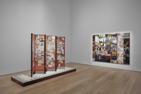 Hernan Bas, TIME LIFE  Installation view 4