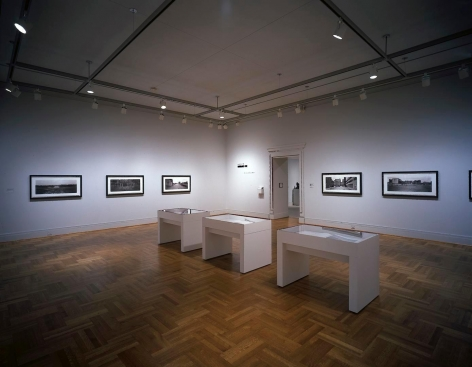 Installation view of Catherine Opie: in between here and there at the Saint Louis Art Museum, Saint Louis