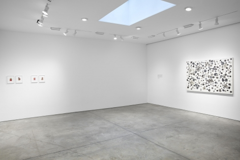 Tim Rollins and K.O.S.,Workshop, Installation view atLehmann Maupin, New York