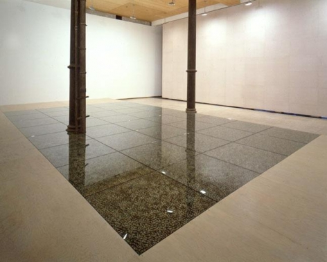 Floor, 1997-2000 PVC Figures, Glass Plates, Phenolic Sheets, Polyurethane Resin