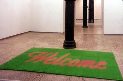Doormat: Welcome (Green), 2000
