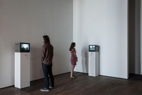 Gilbert & George Films and Video Sculptures, 1972-1981 Installation view 4