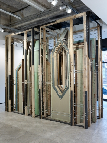 劉韡 裝置視圖, 紐約西26街540號立木畫廊