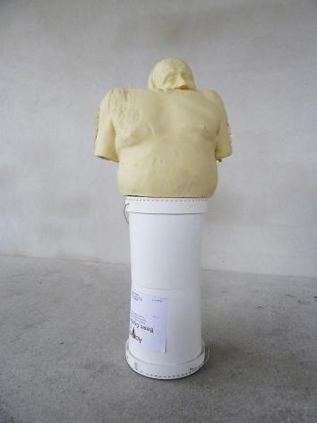 ERWIN WURM Double White Bucket (Synthesa), 2013