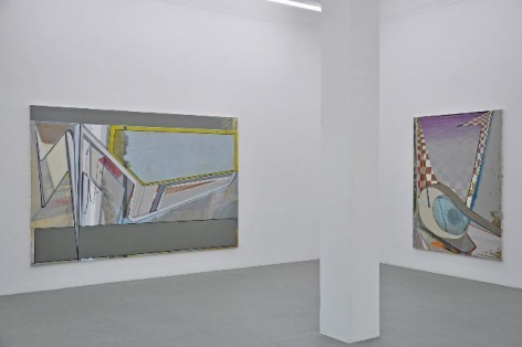 Installation view at Tanja Pol Gallery, 2009