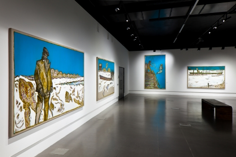 Billy Childish, Frozen Estuary and Other Paintings of the Divine Ordinary