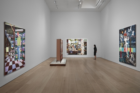 Hernan Bas,TIME LIFE, Installation view, Lehmann Maupin, New York, 2019–2020