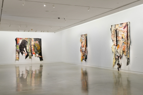 Angel Otero,Elegies, Installation view, The Bronx Museum of the Arts, New York, 2017