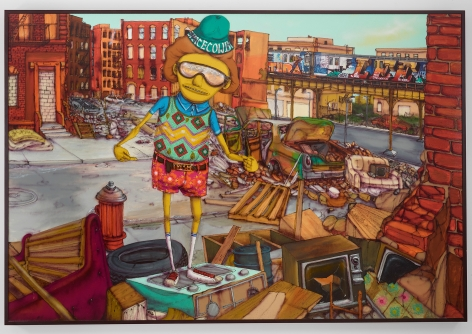 OSGEMEOS, South Bronx, 2016