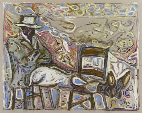 BILLY CHILDISH (Elgar) Man Sat on Chairs, 2011
