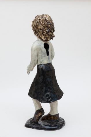 KLARA KRISTALOVA Keyhole Woman, 2013