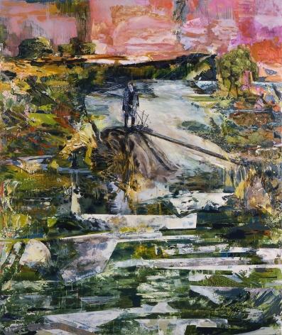赫爾南·å·´æ–¯ The bagpiper in exile (or, the sad wind), 2009