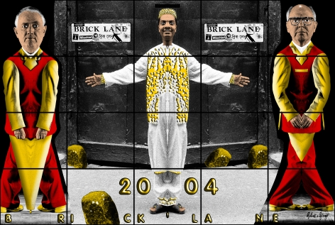 GILBERT & GEORGE, Brick Lane, 2004