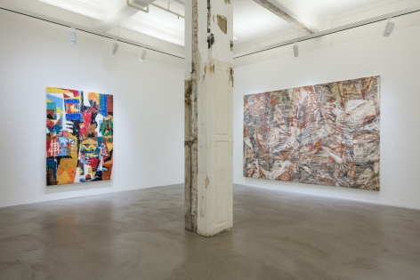 Angel Otero,Born in the Echoes, Installation view, Lehmann Maupin, Hong Kong, 2016