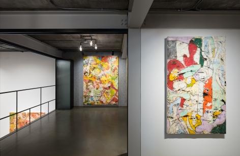 Angel Otero, Pielde Luna, Installation view, Lehmann Maupin, Seoul, 2018