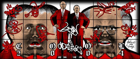 GILBERT & GEORGE, Cool, 2004