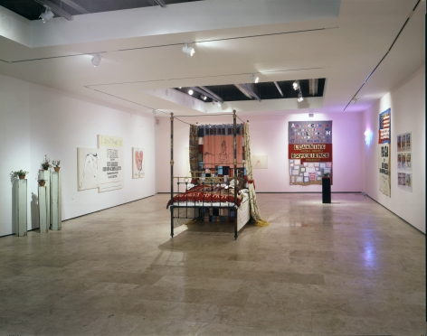 Tracey Emin: I Think It's In My Head Installation view, Lehmann Maupin Gallery 21 September - 19 October 2002 view 2