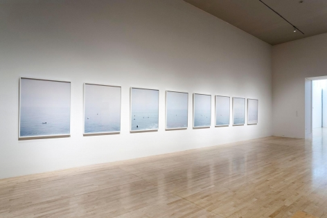 Installation view of Catherine Opie:Figure and Landscapeat the Los Angeles County Museum of Art, Los Angeles