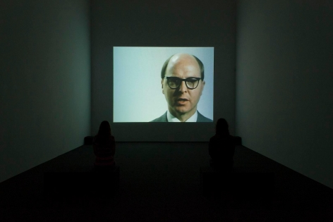 Gilbert & George Films and Video Sculptures, 1972-1981 Installation view 3