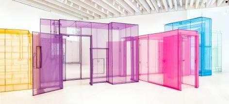 Do Ho Suh: Passage/s, Installation view, Bildmuseet, Umea University, Stockholm, Sweden, 2017–2018