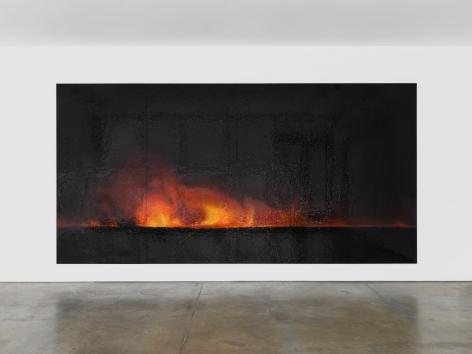 TERESITA FERNÁNDEZ, Fire (America) 5, 2017