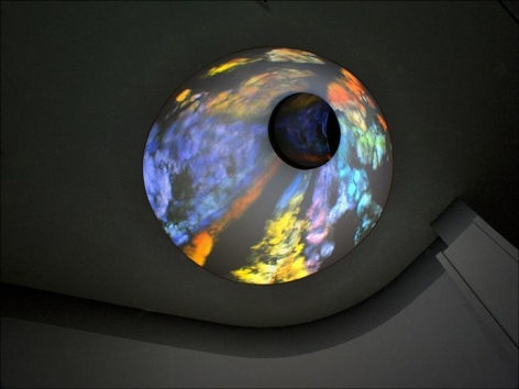 Jennifer Steinkamp Oculus Sinister (left eye)